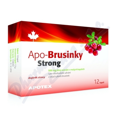 APO-Brusinky Strong 500mg cps.12