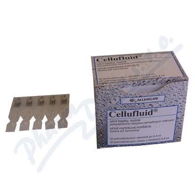 Cellufluid oph.gtt.sol.30x0.4ml/2mg