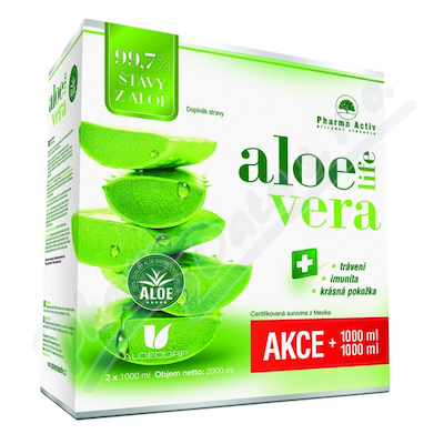 AloeVeraLife šť.ALOE 99.7% 1000ml1+1zd