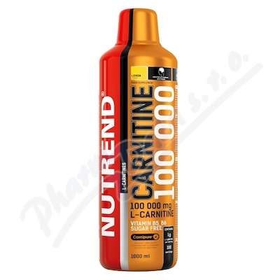 NUTREND Carnitine 100000 citron 1000ml