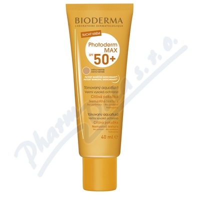 BIODERMA Photoderm MAX Aquafluid světl.SPF50+ 40ml