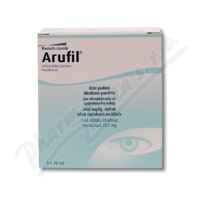 Arufil 20mg/ml oph.gtt.sol.3x10ml II.