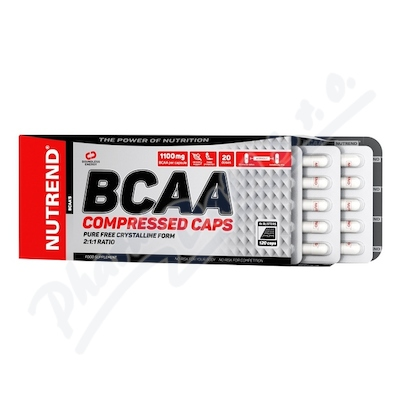 NUTREND BCAA Compressed caps cps.120