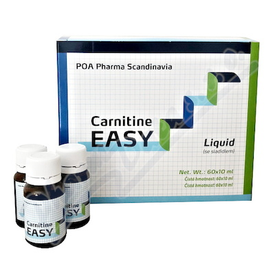 Carnitine EASY LIQUID por.sol. 60x10ml