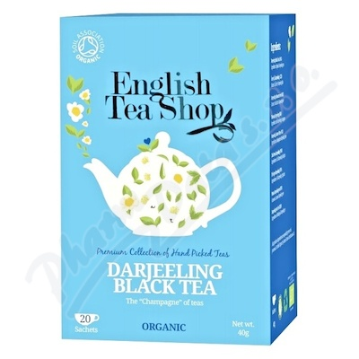 English Tea Shop Bio Darjeeling černý čaj 20x2g