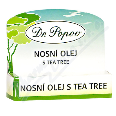 Dr.Popov Nosní olej s Tea Tree roll-on 6ml