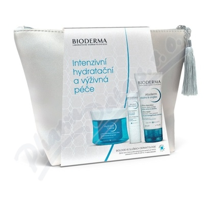 BIODERMA Hydrabio Creme 50ml+At.Tyč.4g+At.Ruce50ml