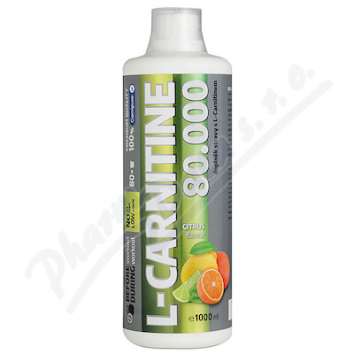 L-CARNITINE 80.000mg liquid 1000 ml