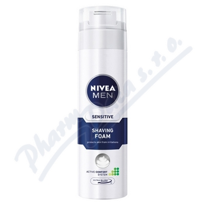 NIVEA FOR MEN hol.pěna SENSITIVE 200ml 81720