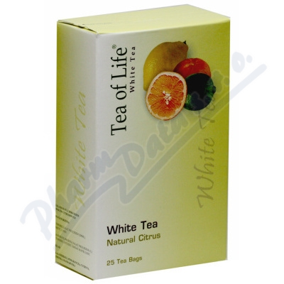 Tea of Life White tea citrus n.s.25x2g