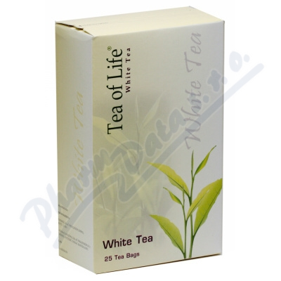 Tea of Life White tea n.s.25x2g - bílý čaj