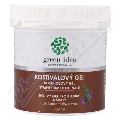 TOPVET Kostivalový gel 250ml